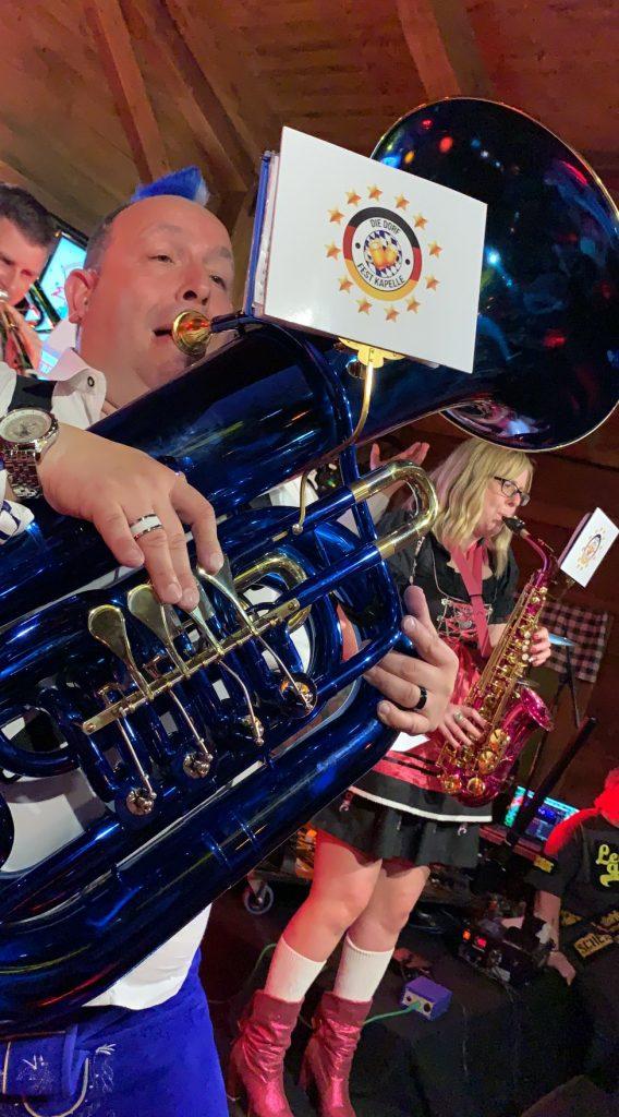 Custom Made Unique Multi-coloured Brass Instruments