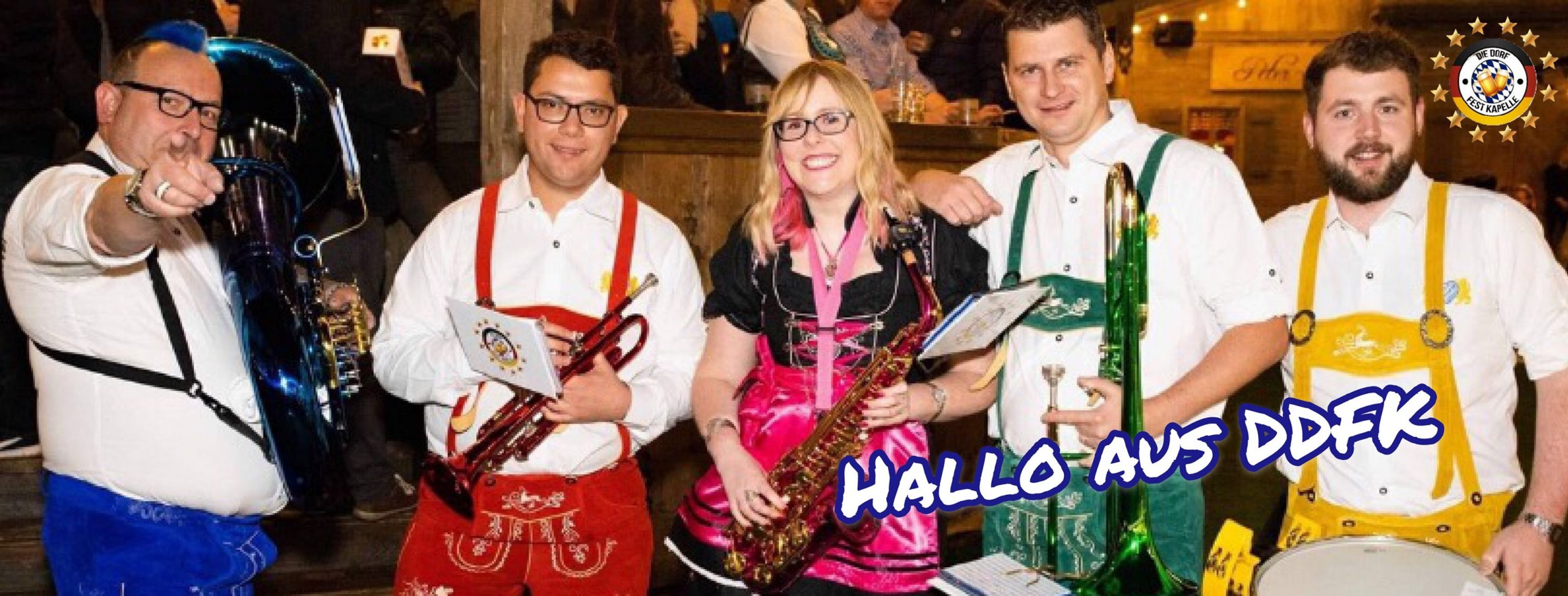 Oompah Band in Asia