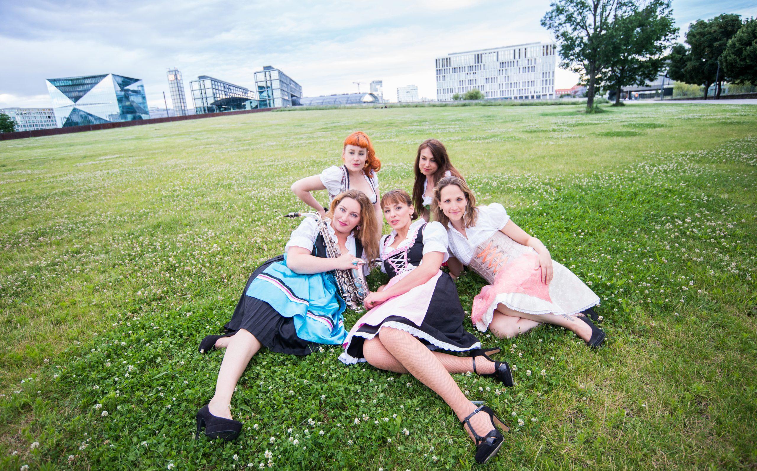 All Girl German Oompah Band